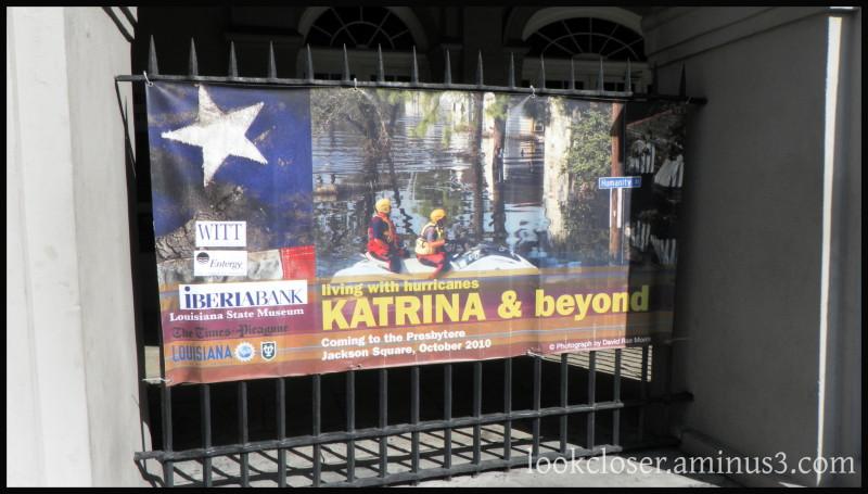 NOLA French-Quarter Katrina sign