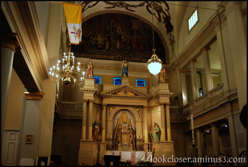 NOLA St-Louis Cathedral church inside