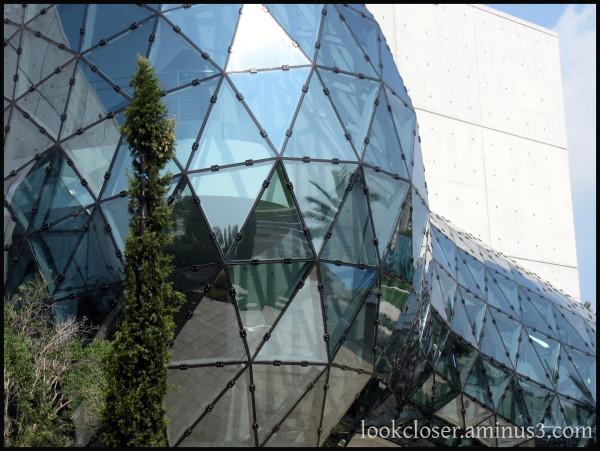 StPetersburg DaliMuseum glass dome geometry