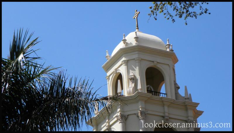 Bradenton Christ-Episcopal church bell-tower cross