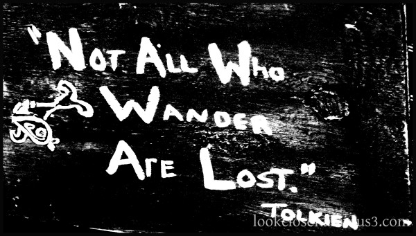bw tolkien wisdom extreme contrast processing
