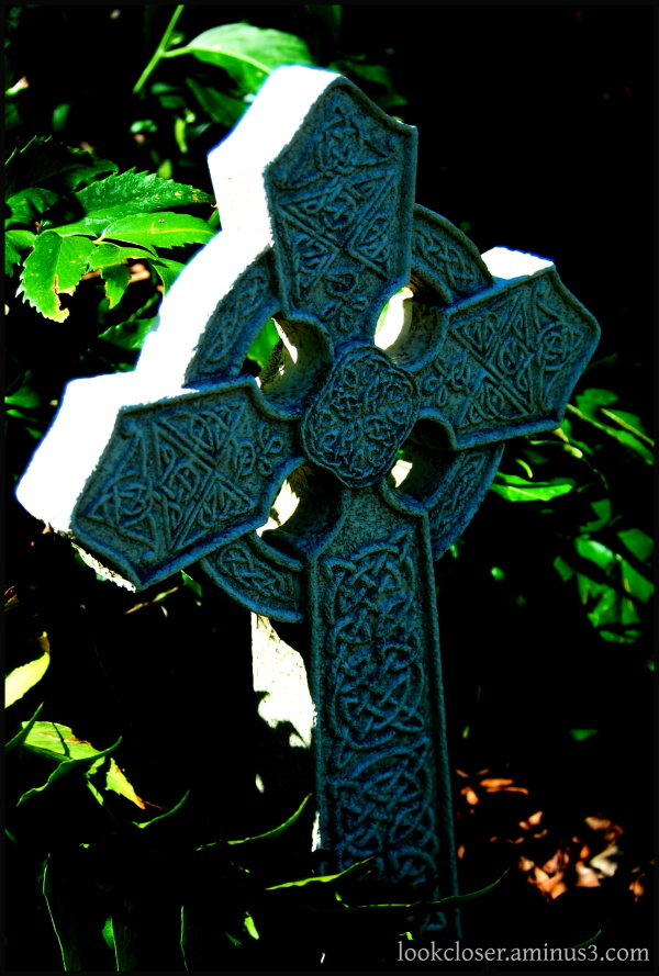 Celtic Cross Irish St.Patrick Green