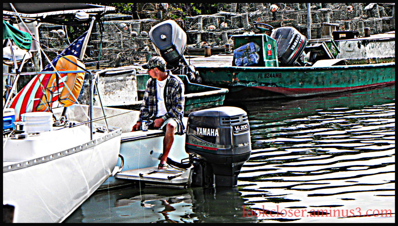 Fisherman flag water hdr