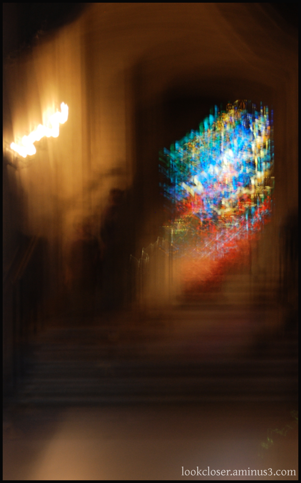 SF stained glass blur