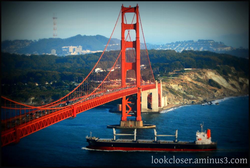 SF golden gate lomo