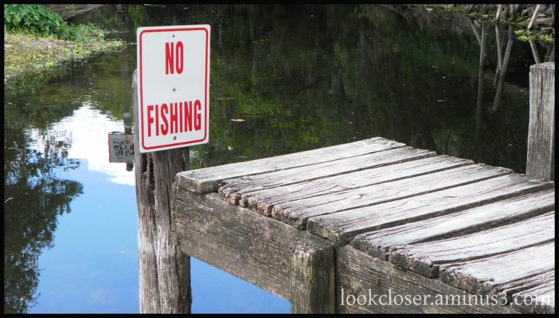 pier river sign robinsonpreserve fl
