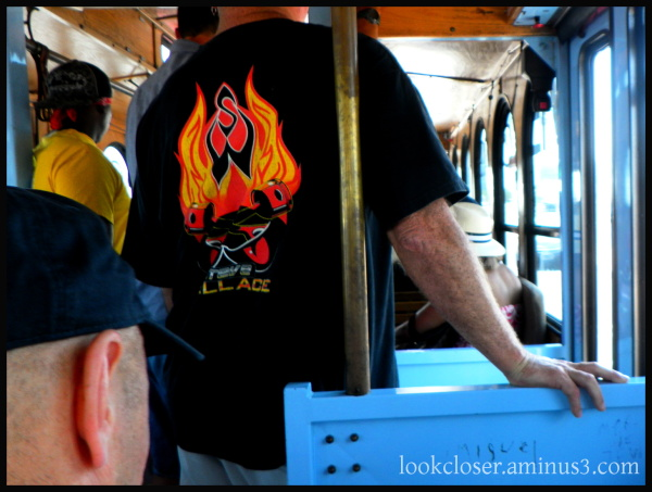 st.pete man trolley fire shirt