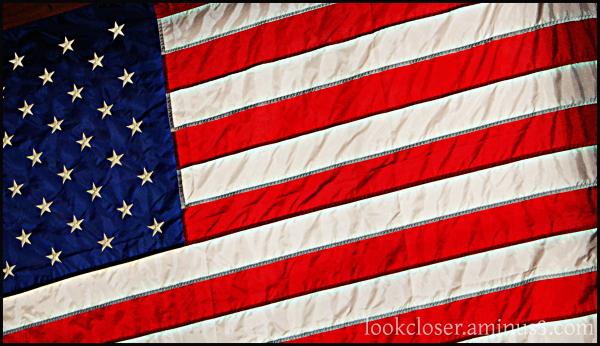flag red white blue