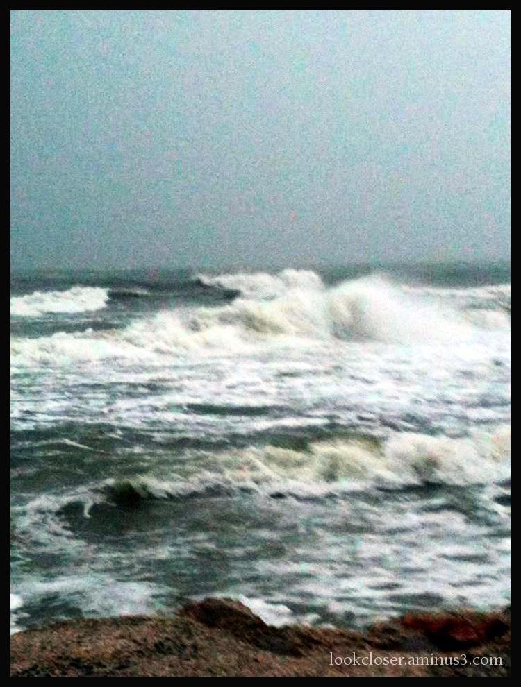 tropical storm waves gulf Annamaria FL