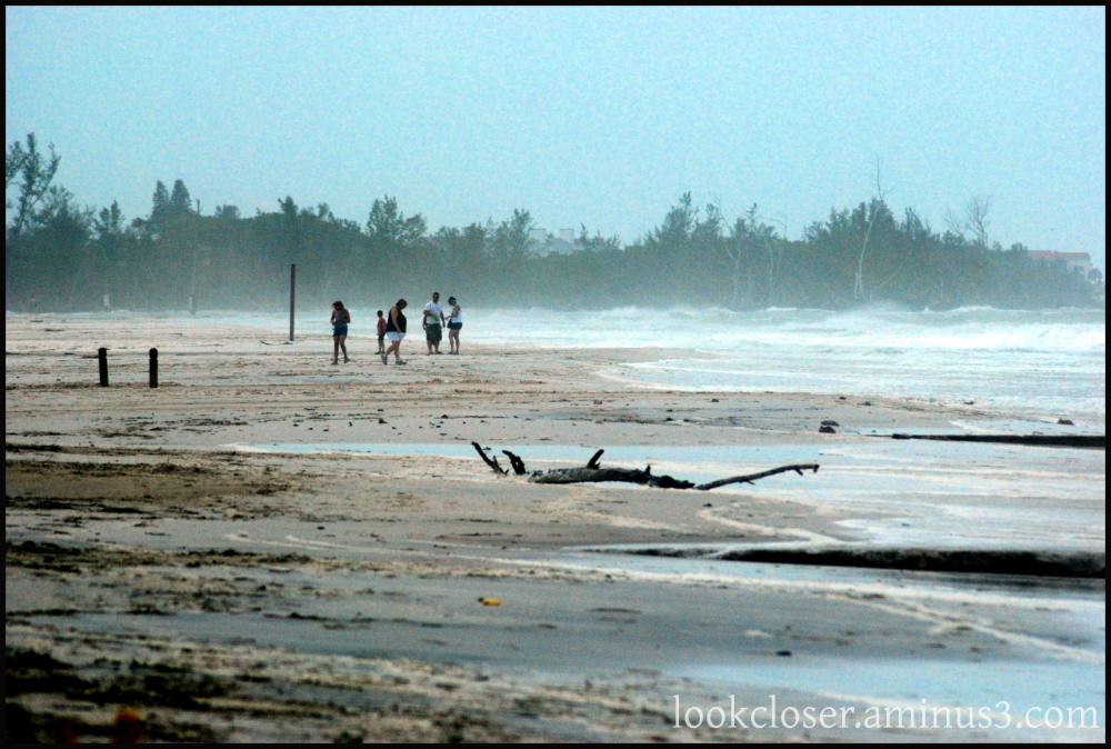 people beach tropical storm anna maria FL