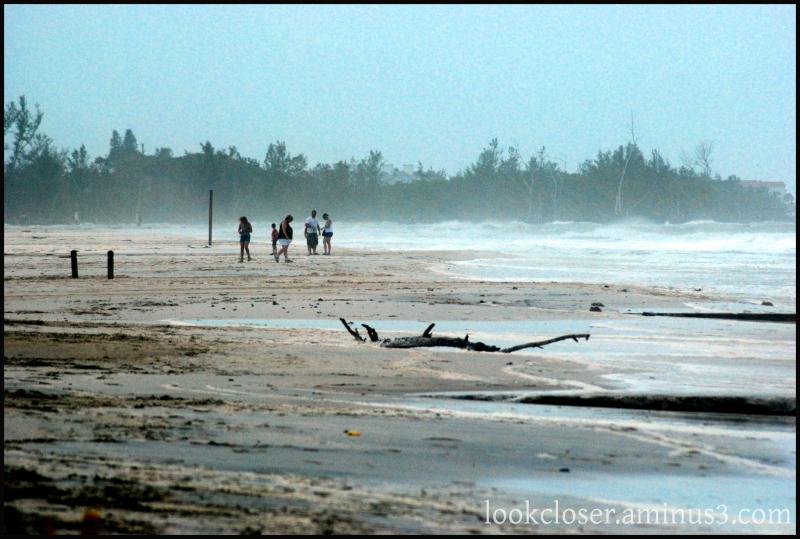 people beach tropical storm anna maria FL