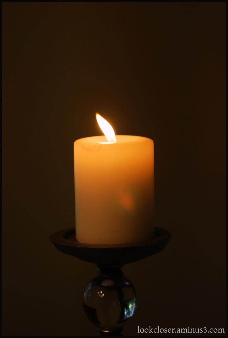 candle flame burning light shadow faith