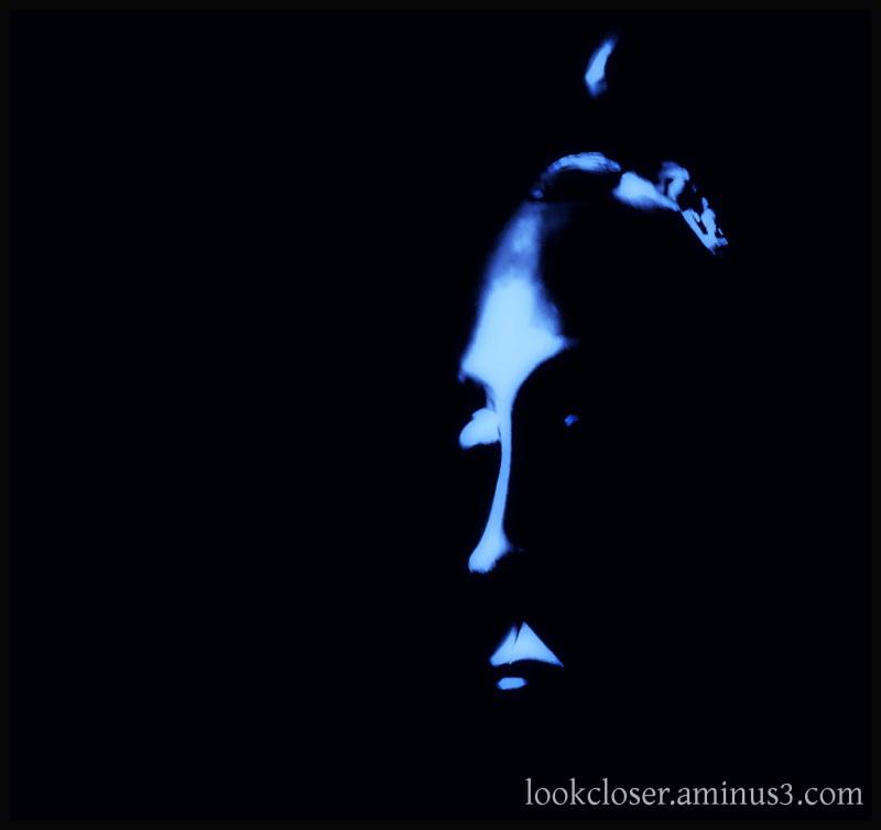 scary african mask dark shadow halloween