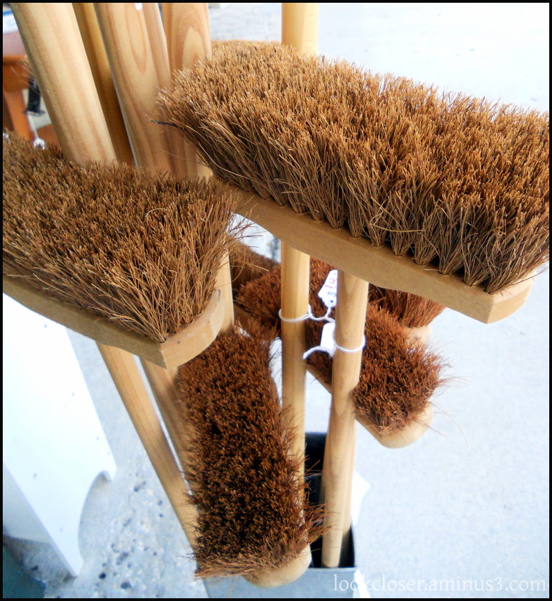 brooms bristles