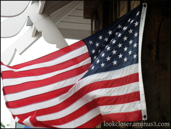 American Flag storm wind Libya