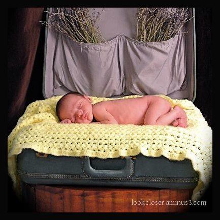 newborn baby Atticus grandson sleeping