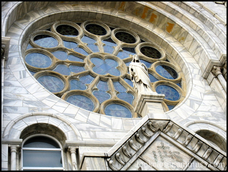 church window jesus statue tampa