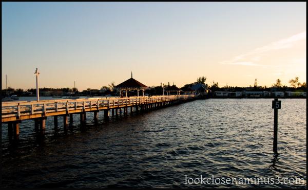 bay sunset pier marina