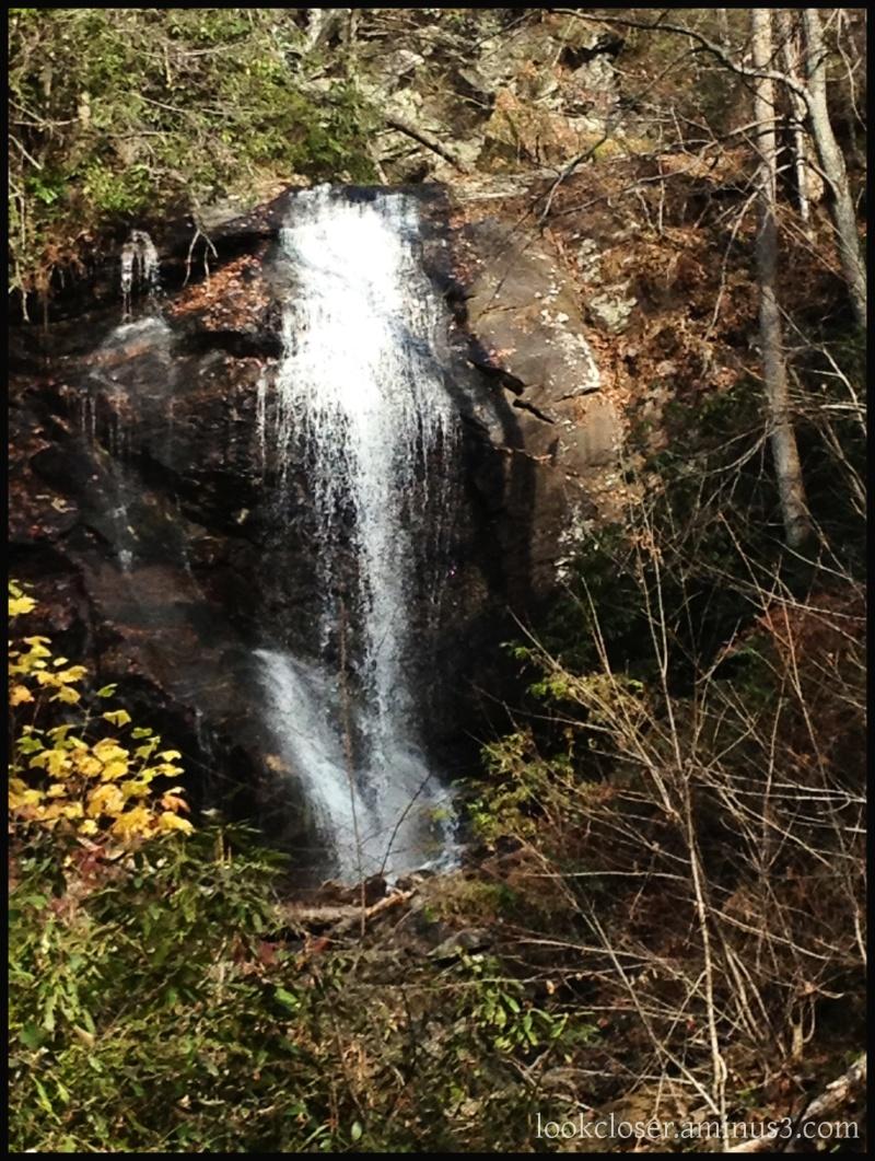 Waterfall autumn Unicoi