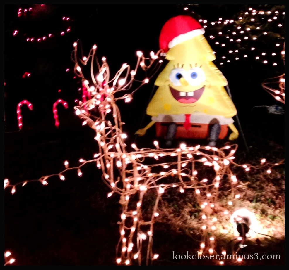 christmas lights silly decorations