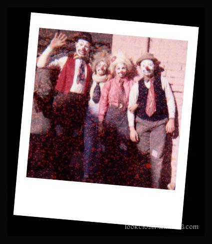 me cliff elaine auntie mardigras clowns