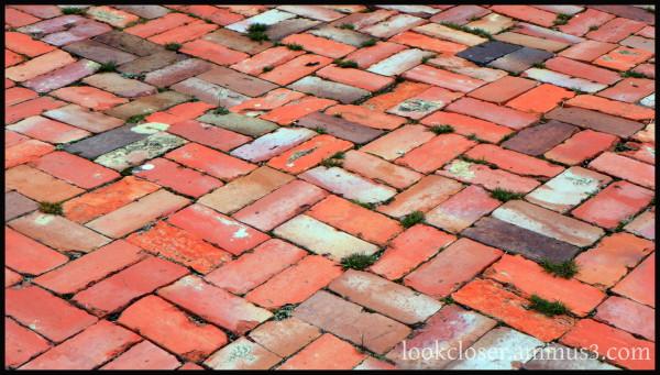 red brick patio Apalachicola FL