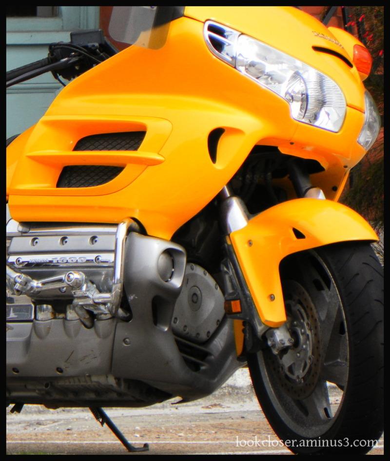 yellow motor bike apalachicola