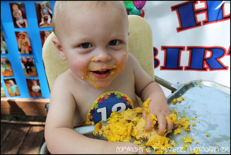 Wade Birthday Cake ST