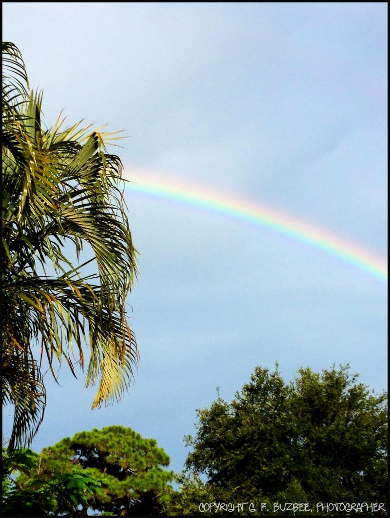 Skyscape rainbow hope