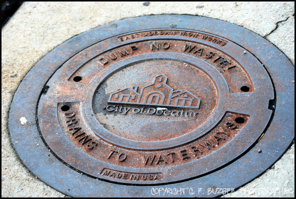storm drain Decatur
