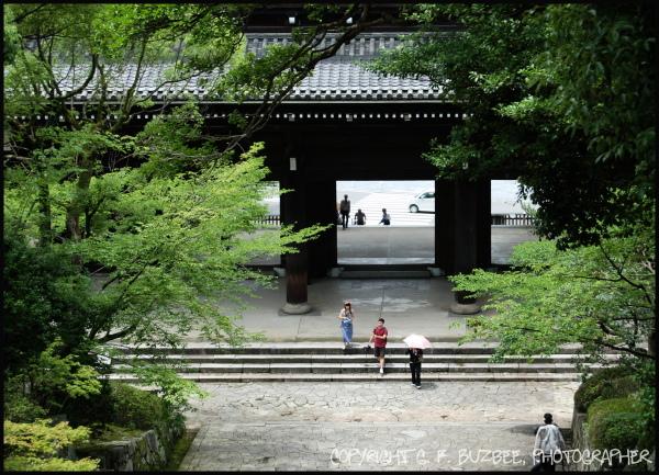 kyoto Japan temple gate