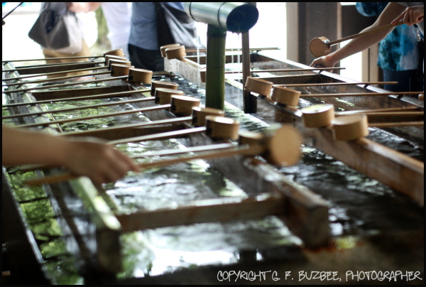 hand washing Tokyo shinto shrine