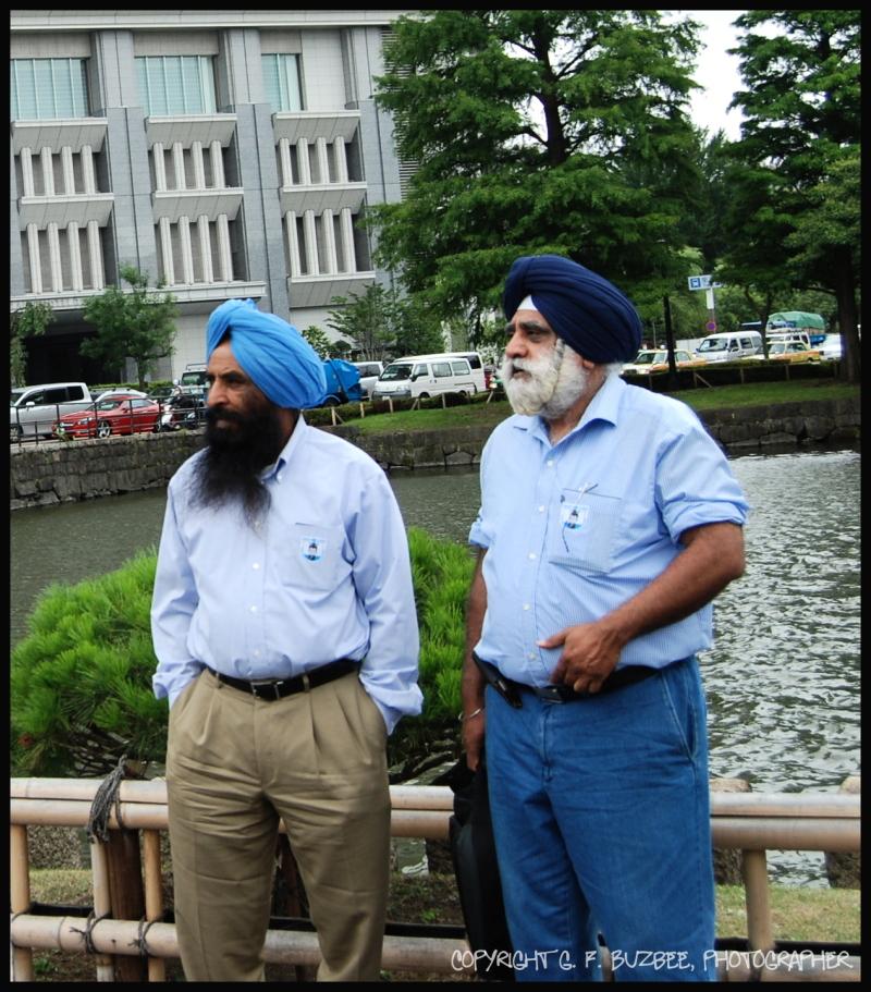 two men Tokyo tourists