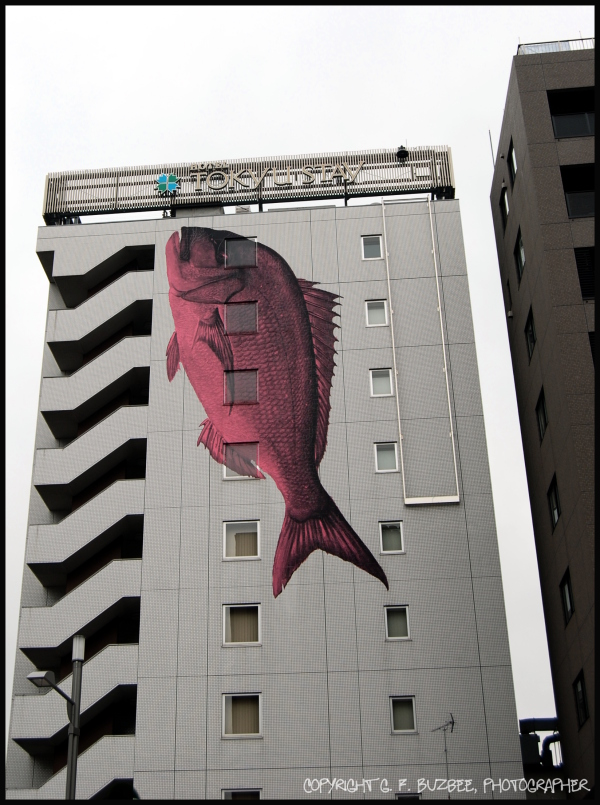 kyoto japan hotel building redfish