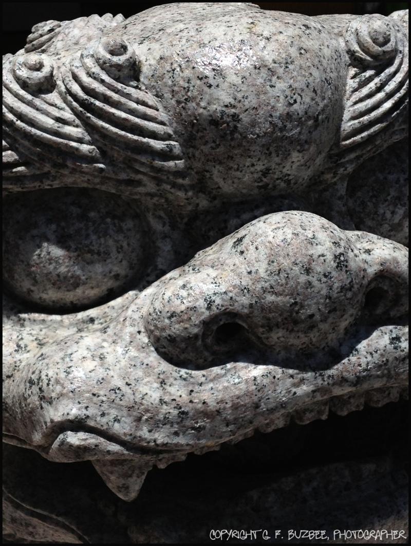 Japan Shisa Dog statue