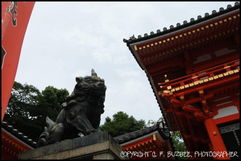 Japan Shrine Shisa Dog statue