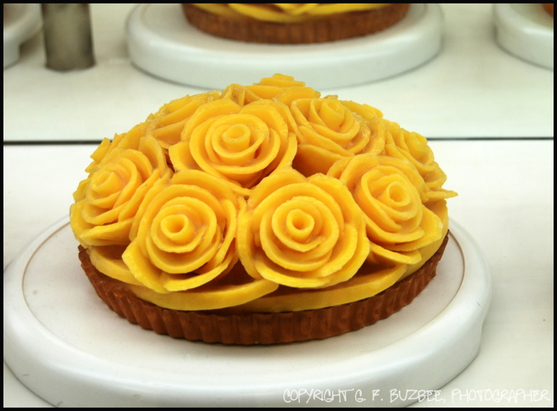 mango flower pastry kyoto japan