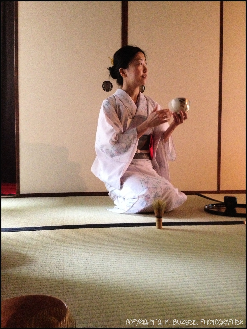japan tradition tea ceremony woman