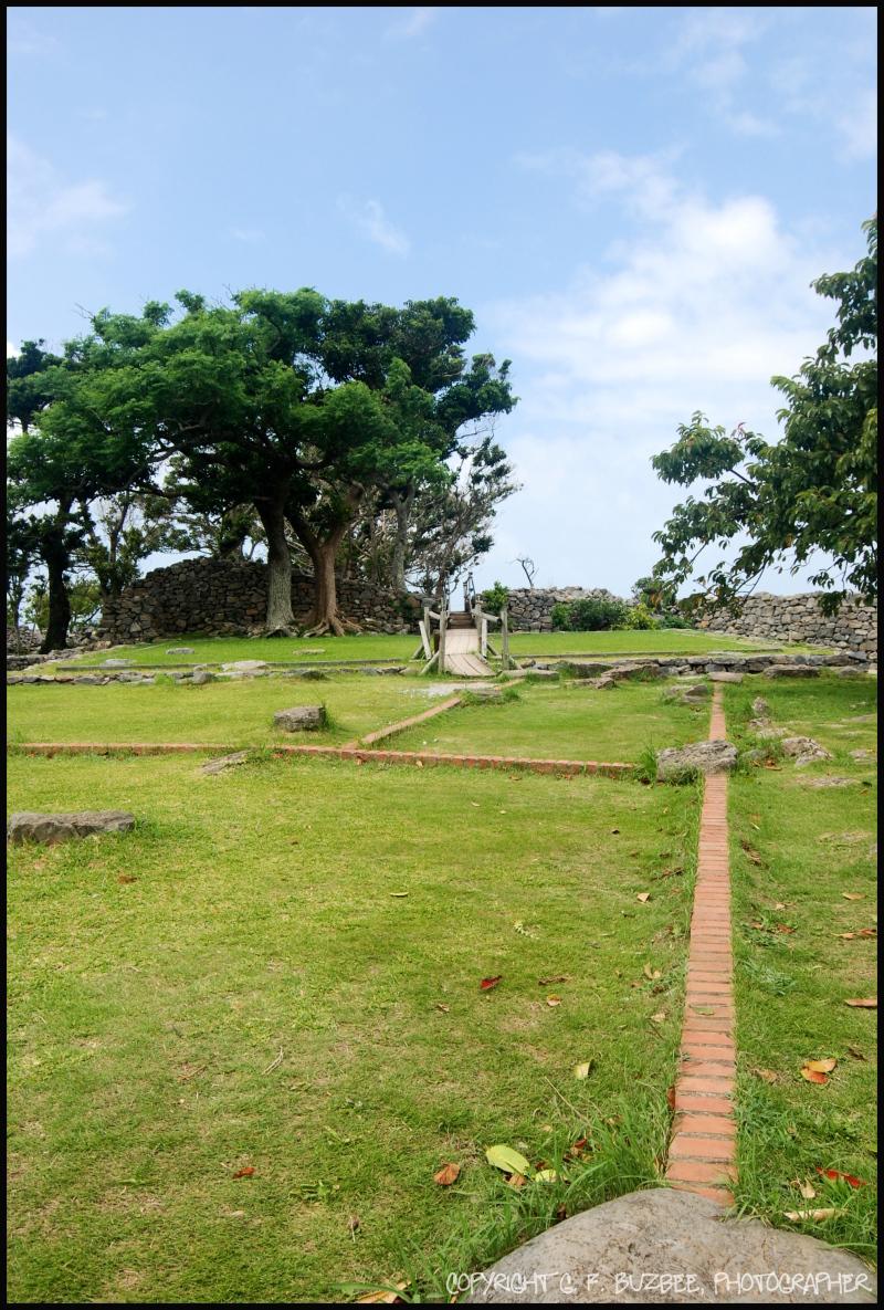 Historic Castle grounds okinawa japan