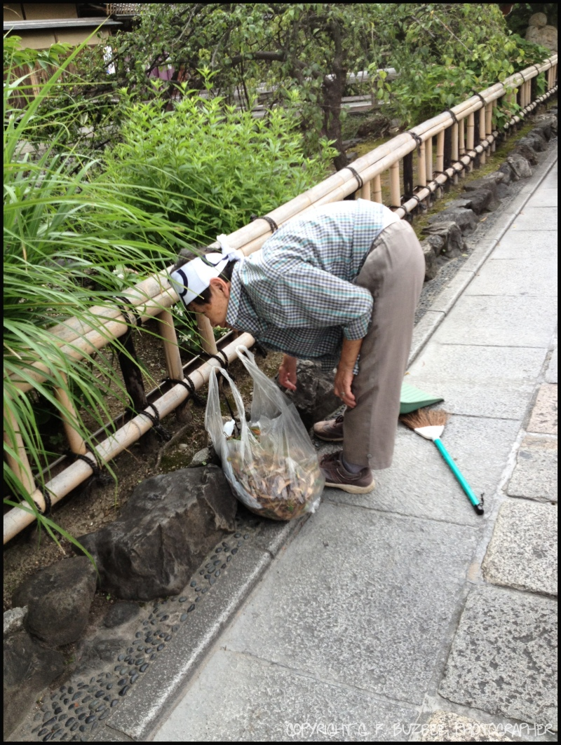 Japan gardener people