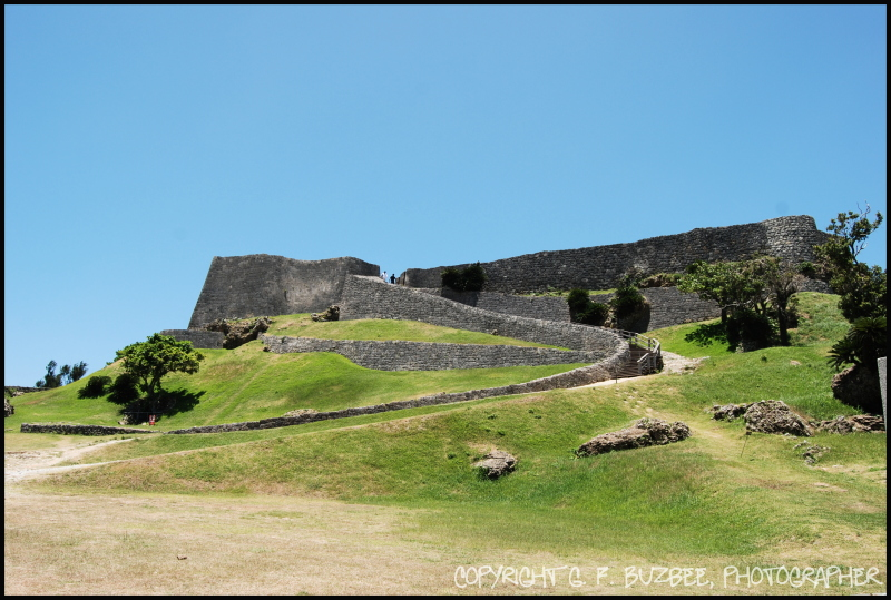 historic architecture okinawa japan castle