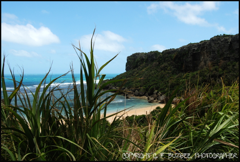 Hidden Beach Okinawa Japan
