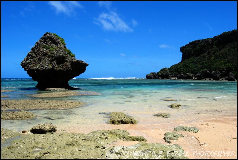 Okinawa Hidden Beach Japan