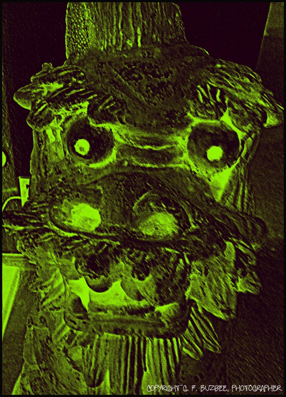 Halloween demon effects