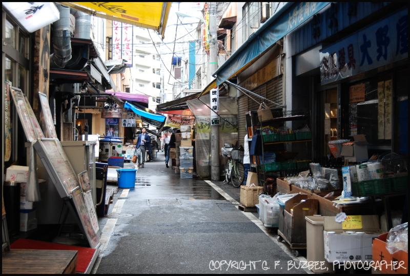 Kyoto commerce back street