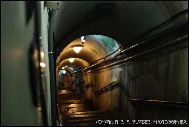 Japanese Navy Underground steps