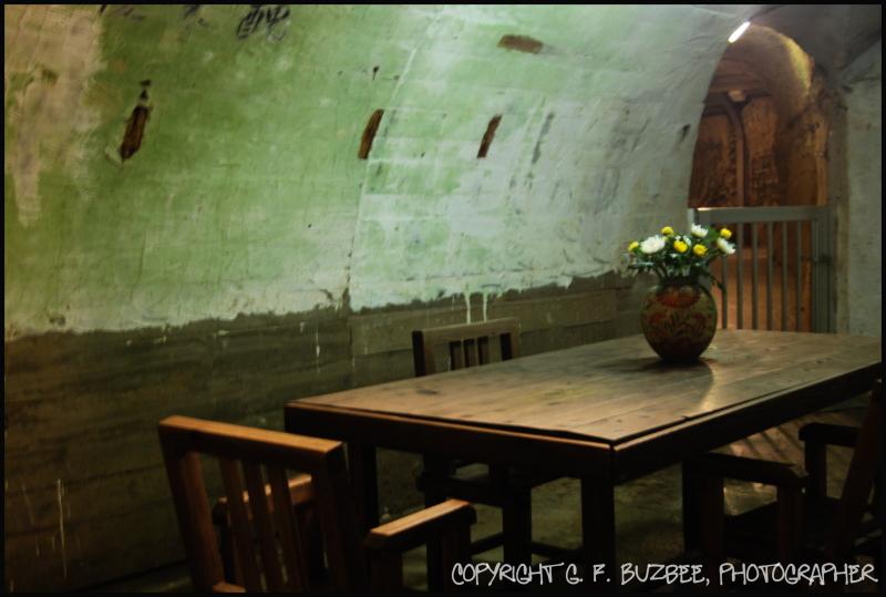 Japanese Navy Underground table okinawa