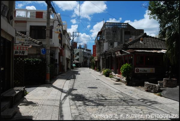 Naha Okinawa path pottery street