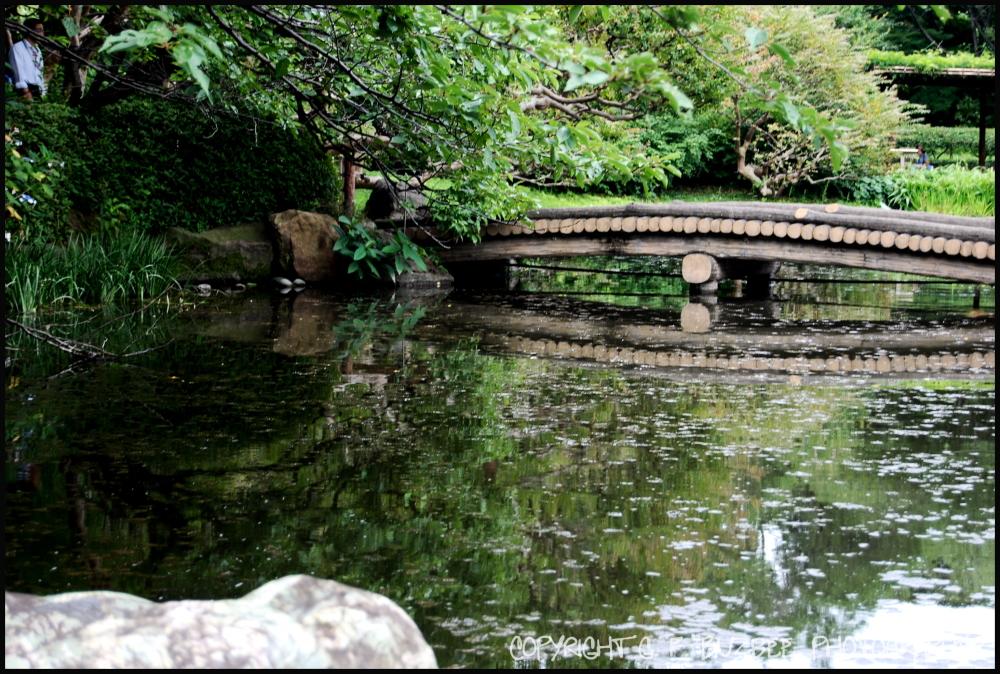 imperial palace garden bridge tokyo