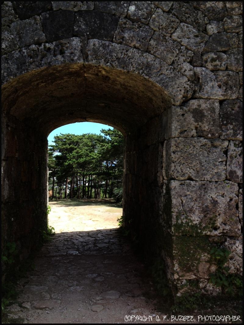 Japan castle passage